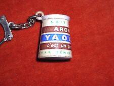 porte-clé Pot Yaourt YAOULAIT Produit Normand Aromatisé Lait gélifié Yogourt