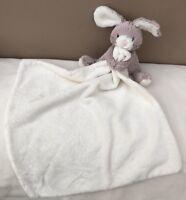 Jellycat Soppy Bunny Rabbit Comforter Blanket Soother Baby Soft Toy Beige Cream