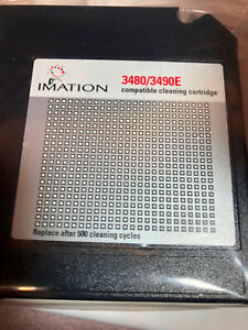 Imation 3480/3490E Cleaning Cartridge