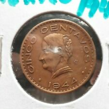 CIRCULATED 1944 5 CENTAVOS MEXICAN COIN (110519)2.....FREE DOMESTIC SHIPPING!!!!