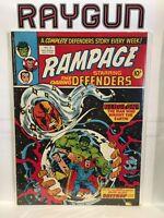 Rampage Starring The Defenders #13 FN/VF 1st Print Marvel Magazine