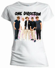 One Direction - Flowers T-Shirt Femme / Ladies - Taille / Size M ROCK OFF