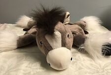 Zoobie Horse Toy Plush Limited Edition Clip-clop Clydesdale