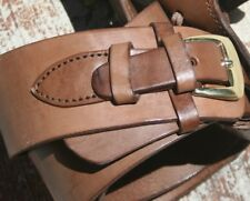 Leather Holster Belt Chocolate Smooth Brand New Holster Belt Made inMexico 70114