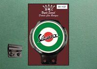 Royale Classic Car Badge & Bar Clip VESPA ITALY MOD TARGET B1.1137