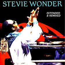 "Stevie Wonder  ""Extended & Remixed""  2-cd  (22 Terrific Mixes!)  Motown"