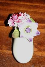 Vintage Aristocrat Hand Made Bone China Flower arrangement in a Dutch Shoe.