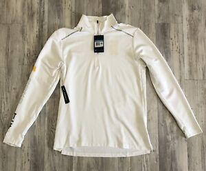 Nike Track Arcadia Invitational 2020 1/2 Zip Running Top White Size Medium M