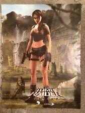Tomb Raider Legend Poster Ad Print Playstation 2