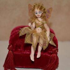 miniature porcelain doll fairy girl 1:12 dollhouse