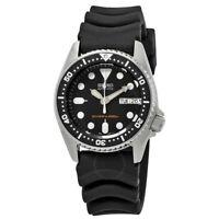 Seiko Divers Automatic Black Dial Rubber Strap Men Watch SKX013K1 LIMITED STOCK