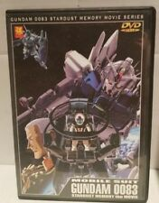 Mobile Suit Gundam 0083 Stardust Memory the Movie DVD - Region 2 - Free Postage