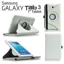 "FUNDA PARA TABLET SAMSUNG GALAXY TAB 3 7.0 T210 P3200 7"" GIRATORIA BLANCO"