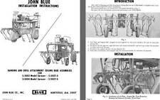 John Blue Banding and Drill Attachment (Oiling Bar) Assemblies Installation Inst