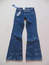 Hosengröße W28 L32 Damen-Jeans im Schlaghosen-Stil