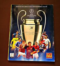 Champions League 2011-12. Panini - Album eith all stickers in it - Very good!