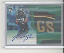 Leonard Fournette auto patch card /5 2017 Panini Certified green RC Buccaneers
