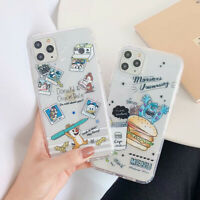 Cartoon Disney Soft TPU Phone Case Cover For iPhone 11 11 Pro XS Max XR 6 7 8