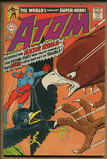 The Atom #37 - Intro Major Mynah, Hawkman Cameo! - 1968 (Grade 7.0) WH