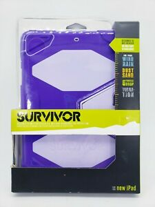 Griffin Survivor All-Terrain GB36406 Protective Cover for 9.7 iPad Air Lavender