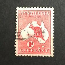 "Australia Penny Red Roo - RARE variety ""Extra Tasmania"" - Very nice condition"
