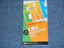 "E.M.F. EMF Japan 1990 Ex+ Tall 3"" CD Single UN BELIEVABLE"