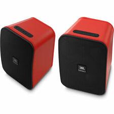 JBL Control X Bluetooth Wireless Speakers (PAIR) Indoor / Outdoor - Red DEMO!