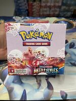NEW SEALED Pokemon Sword & Shield Battle Styles Booster Box IN HAND!