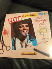 New Elvis Sings For Children Original Vinyl LP Record CPL1-2901 D-323 SEALED