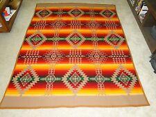 VINTAGE  AMAZING Wool Pendleton 1921 Blanket Antique  RARE! 58 X76