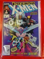 inferno uncanny X men comics Marvel #243 Nice Comic book