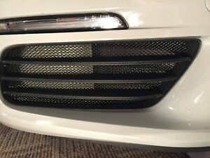 Porsche 718 Boxster and Cayman Front Outer Grille Set Black finish 2017 - 2019