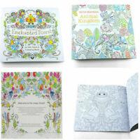 Malbuch für Erwachsene und Kinder: Secret Garden Enchanted Mode Gift T2U1