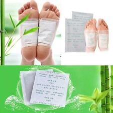 1/5/10 Ginger Detox Foot Pads Patch Healthy Herbal Cleansing Pad New Detox