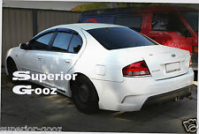 "FPV FG F6 Style Rear Bumper Body Kit Suits "" BA/BF"" Series Falcon XR6/ XR8 Sedan"