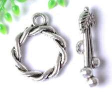 10sets Tibetan Silver Toggle nice Clasps 16MM JK0782