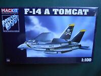 ARMOUR FRANKLIN MINT MACKIT KIT METAL 1/100 AVION F-14 A TOMCAT MIB