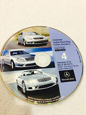 02 2003 MERCEDES S430 S55 S500 S600 NAVIGATION CD 4 SOUTH CENTRAL © 2010 UPDATE