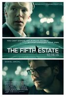 Fifth Estate - original DS movie poster - 27x40
