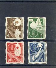 GERMANY(BUND)Sc 698-701(M167-70)*F-VF LH $60