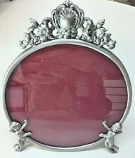 WHOLESALE  Round Angel Picture Frame / Pewter Angel Picture Frame ( LOT 5)