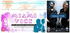 MIAMI VICE COMPLETE SERIES 1-5 DVD 111 Episodes Season 1 2 3 4 5 UK Rele New R2