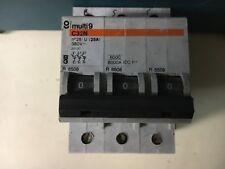 interruttore   magnetotermico trifase 3p  25 a merlin gerin