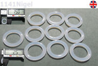 15mm OD  2.5mm CS O Rings Seal Silicone VMQ Sealing O-rings Washers