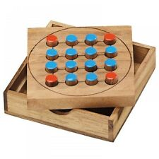 FOXES AND SHEEP WOODEN BOARD GAME