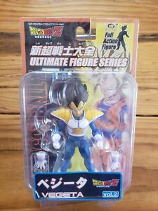 Japan Bandai Dragonball Z Ultimate Figure Series Vegeta Figure Vol 2 New