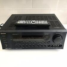 Onkyo TX-SR603X 7.1 Ch. 630 RMS Watt Digital Home Theater Receiver Bundle!! H4