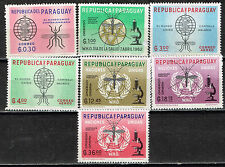 Paraguay Medicine Malaria research 1950 MLH set with rare Airmail stamps