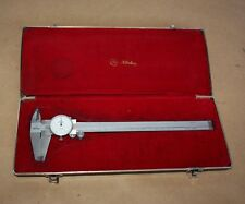 MITUTOYO Dial Vernier Calipers Code No.505-634 200mm in case