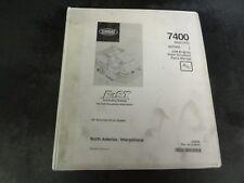 Tennant 7400 (Gas/LGP) GM Engine Rider Scrubber Parts Manual    330970